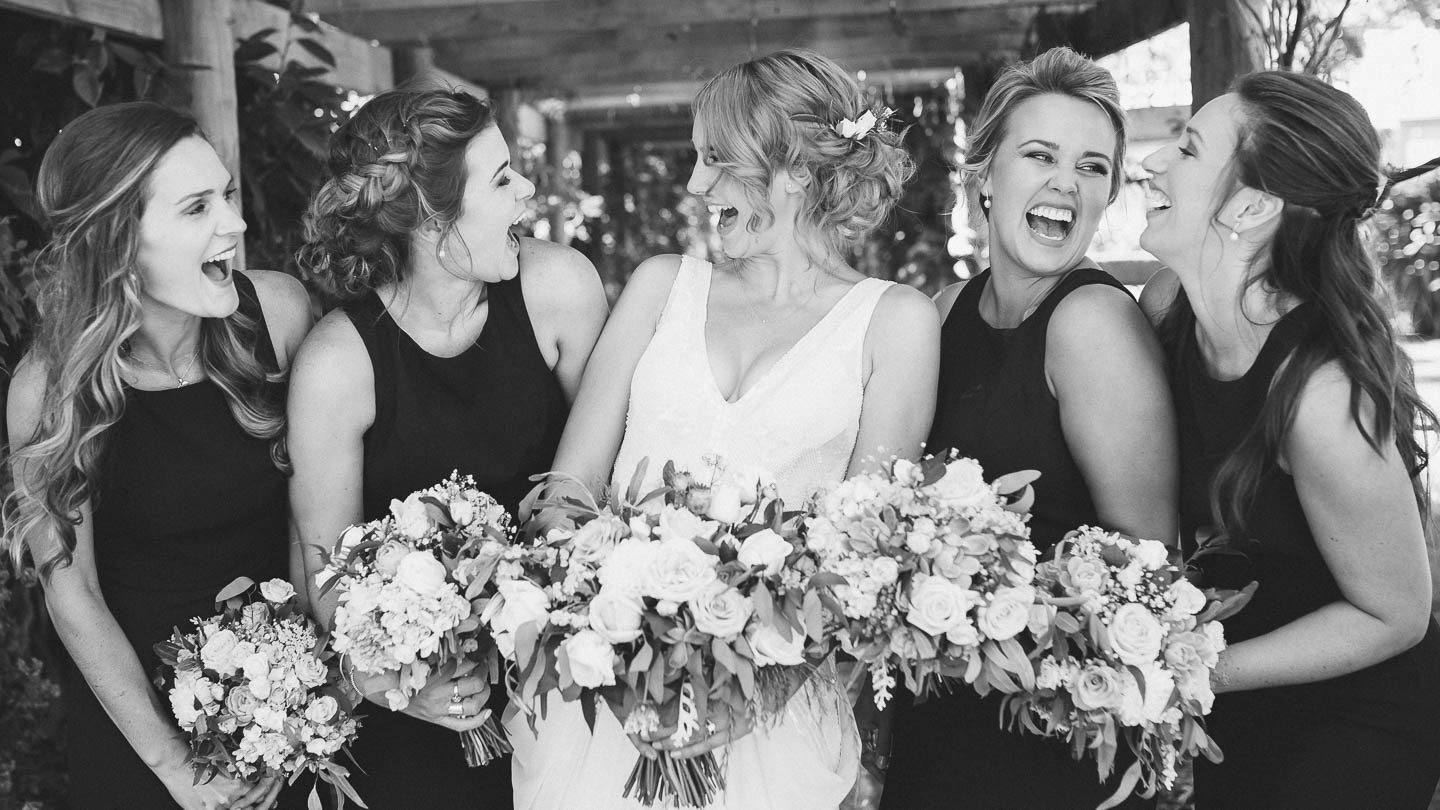 Bride and Bridesmaids - Blenheim