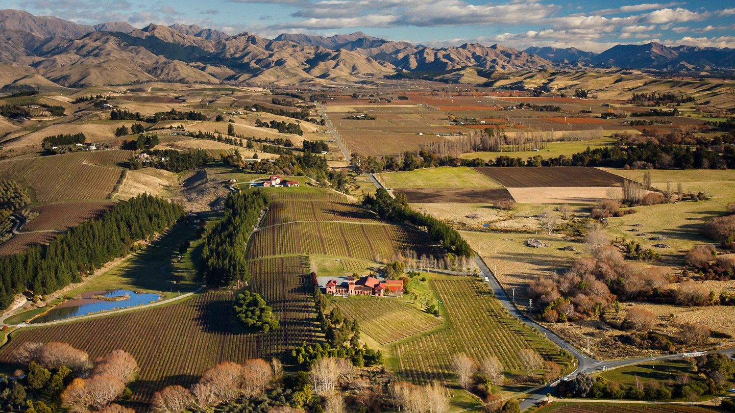Winery Aerial Photography