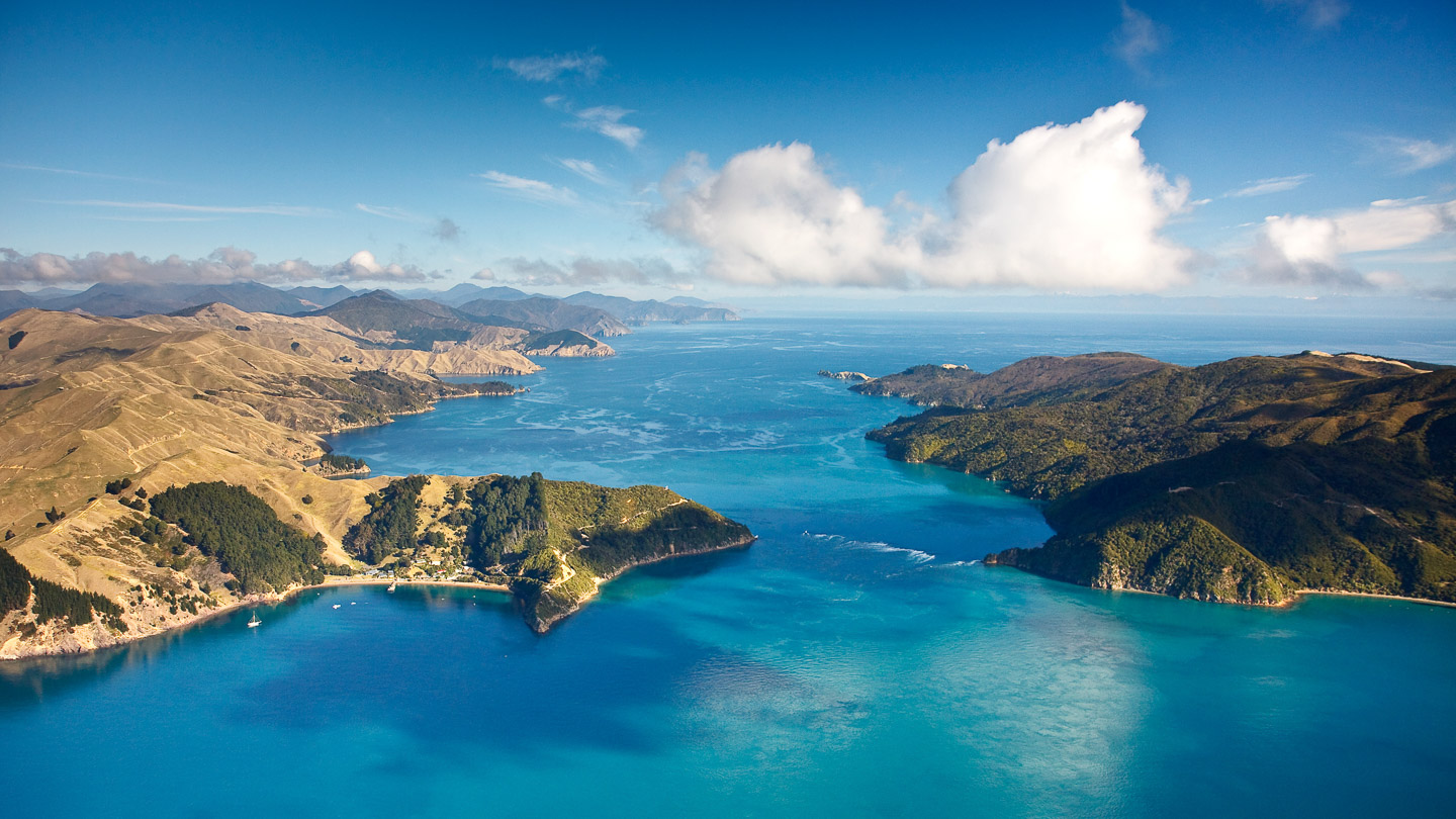 Marlborough Sounds Aerial Photography